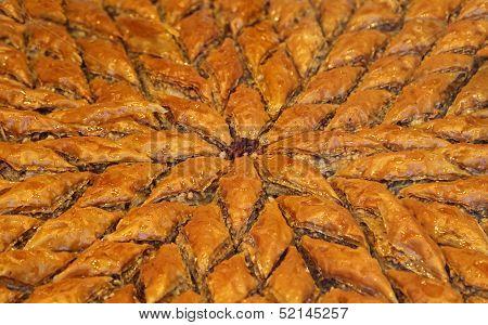 Baklava Dessert (Full Frame)