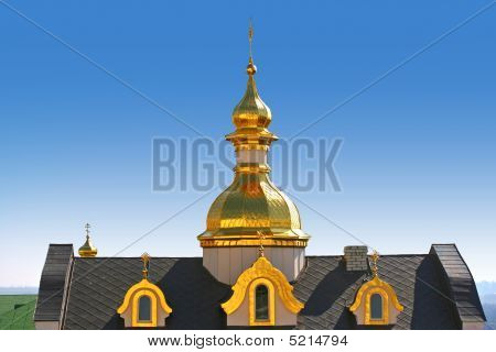 Domes Of Churches.