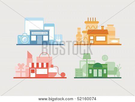 Various Vector Store Deign Collection