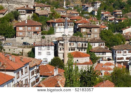 Traditional Ottoman Houses in Safranbolu Town, Turkey poster