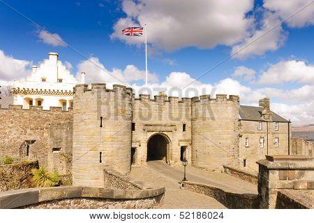 Stirling castle entrance gatehouse