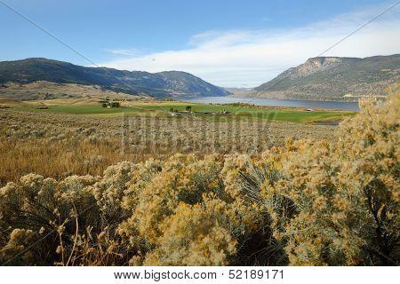 Nicola Lake and Valley, British Columbia
