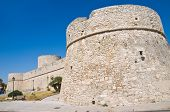 Angevine Swabian Castle. Manfredonia. Puglia. Southern Italy. poster