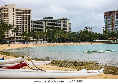 Canoes of Hawaii