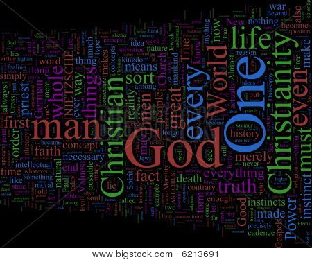 Word Cloud - Antichrist