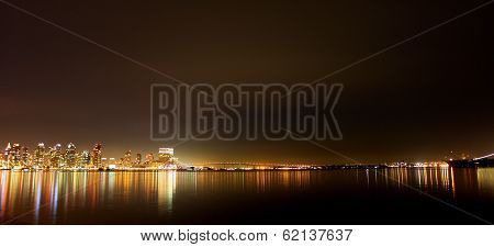 San Diego Skyline Night