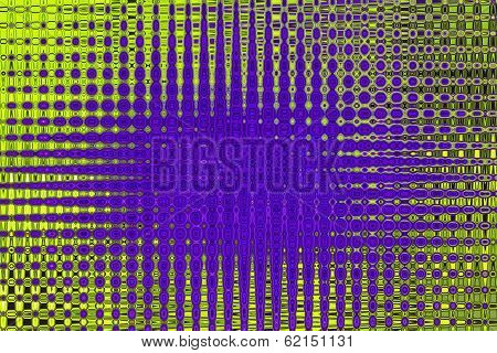 Blue and Green Symmetry - Beautiful Color Background and Screensaver Patterns