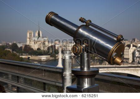 Telescope Over Paris