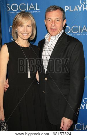 LOS ANGELES - MAR 22: Willow Bay, Bob Iger at the Geffen Playhouse's Annual 'Backstage At The Geffen' Gala at Geffen Playhouse on March 22, 2014 in Los Angeles, California