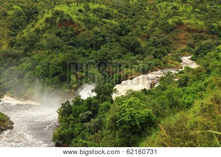 Uhuru Falls In Murchison Falls National Park