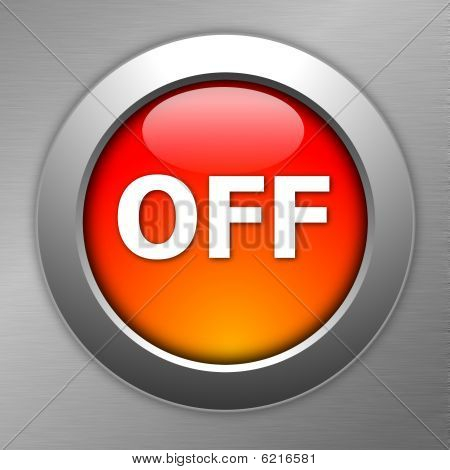 Red Off Button