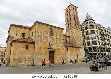 Church Of San Marcelo In Leon
