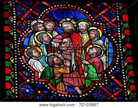 Jesus, Thomas And The Apostles