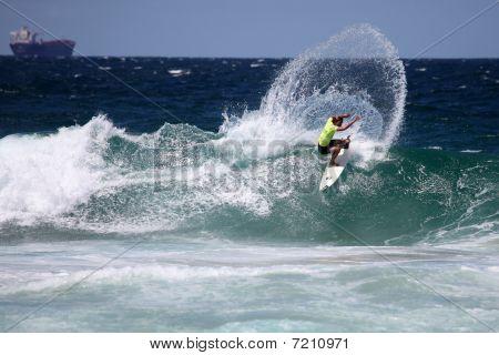 Professional surfer - Merewether Australia