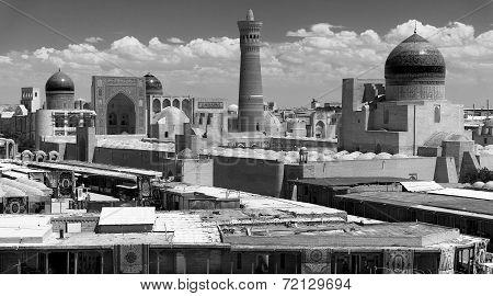 Panoramic View Of Bukhara From Ark - Uzbekistan