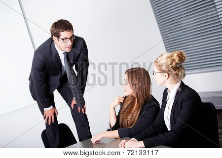 Boss Having Problems With Employees