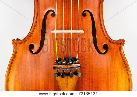 Violin and fine tuners