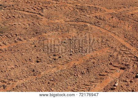Preparation Soil Of Land Area For Construction