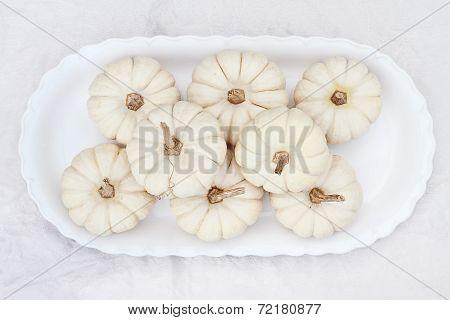 White Boo Boo Pumpkins