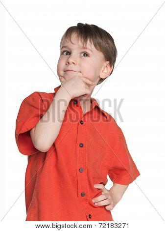 Haughty Little Boy