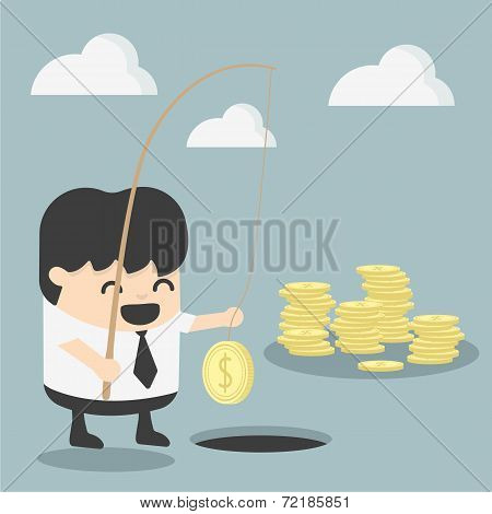 Businessman Investment Concept