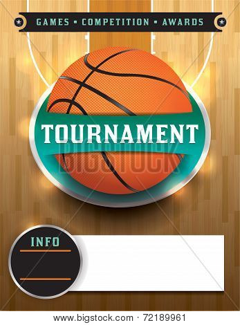 Basketball Tournament Template