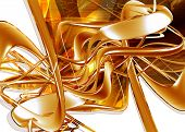 Abstract Background 3D poster