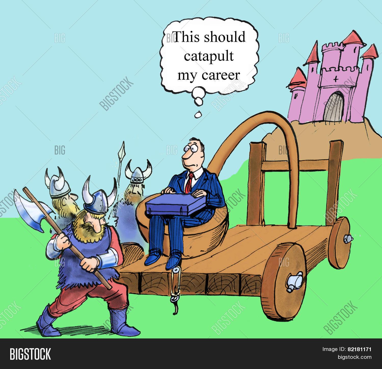 Catapult Career Image Photo Free Trial Bigstock