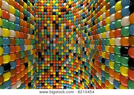 Wall Of Mosaic