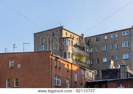 Cityscape of Katowice