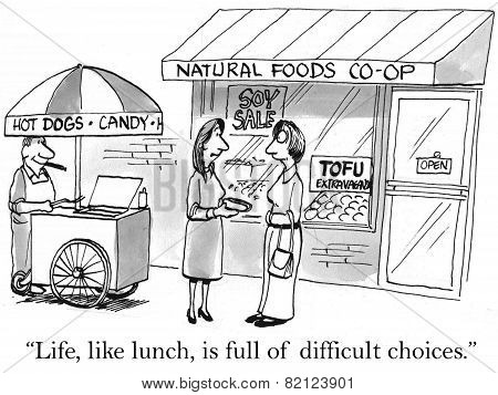 Difficult Food Choices