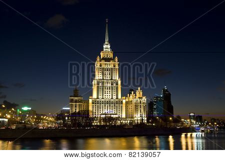Moscow, Hotel