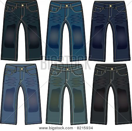 Boys Denim Washing Jeans