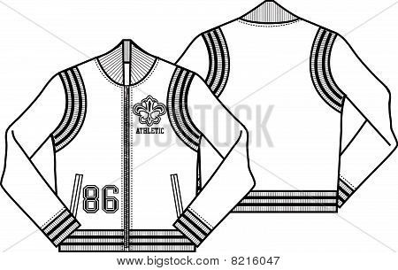 ladies baseball style jacket