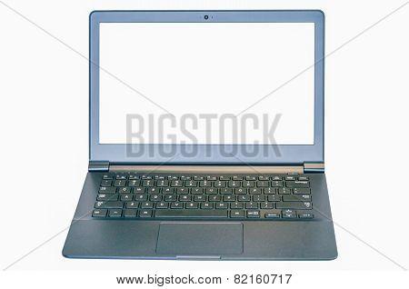 Isolated Ultrabook Laptop