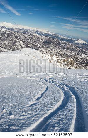 Freeriding In The Alpine Arc