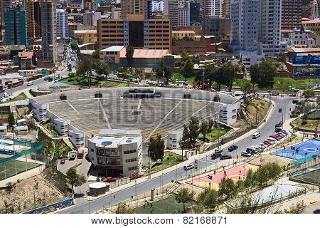 Open Air Theater in La Paz, Bolivia