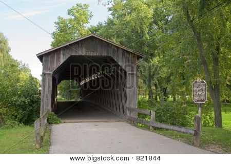 Covered Bridge Entrance View