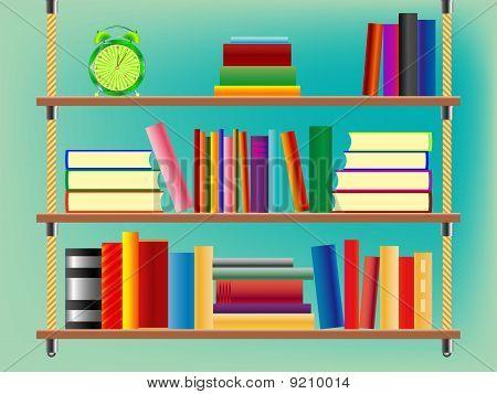 Suspended Bookshelf
