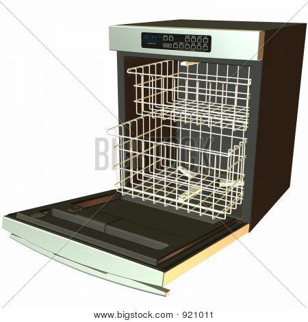 Dishwasher-Open