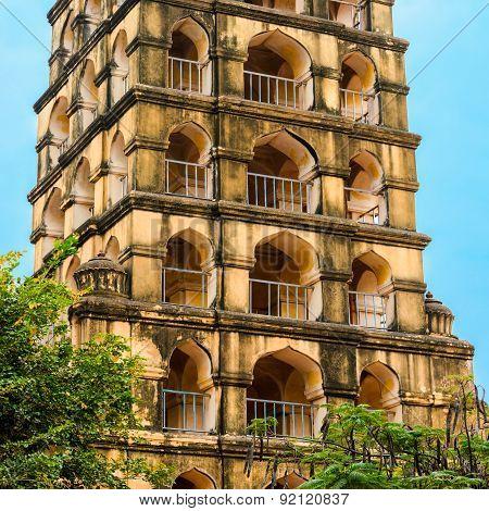 Vijaynagara Fort Of Tanjore Prominent Historical Monument Nayak King 'vijay Raghav'. Madurai, Tamil