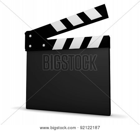 Film And Movie Blank Clapper Board