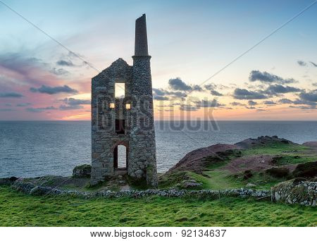 Dusk At Wheal Owles
