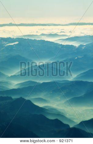 Green Valley Background