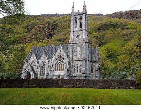 Cathedral at Kylemore Abbey, Ireland