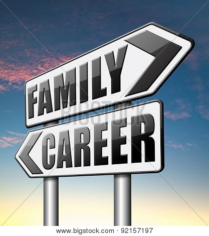 family career balance in work business and health leisure time change job direction move away from workaholic and live stress free