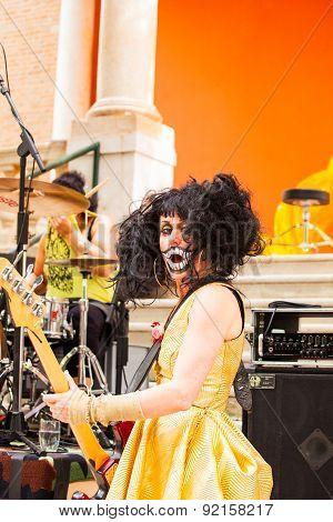 Concert, British Pavillion In 56Th Venice Biennale
