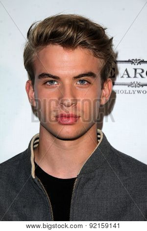 LOS ANGELES - MAY 31:  Aaron Rhodes at the Angeleno Magazine  June 2015 Issue Party with Cover Man Adrian Grenier at the The Argyle on May 31, 2015 in Los Angeles, CA