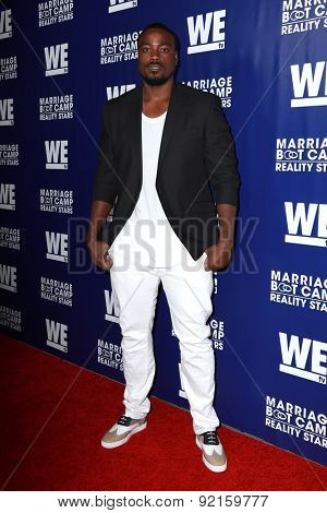 LOS ANGELES - MAY 28:  Reggie Youngblood at the WE tv's