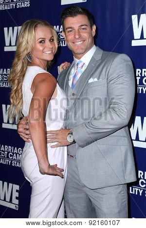 LOS ANGELES - MAY 28:  Jordan Lloyd, Jeff Schroeder at the WE tv's